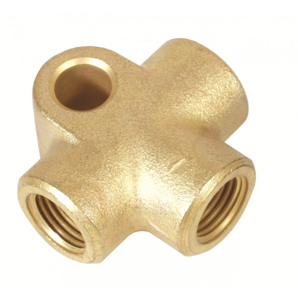 Brass Brake T-Piece M10*1 3 Way - LMA478