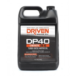 Driven Racing Oil DP40 Turbo Diesel 5W-40 3.8L