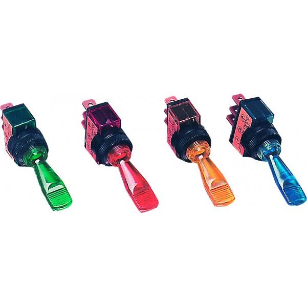 Blue LED Toggle Switch - LMA829