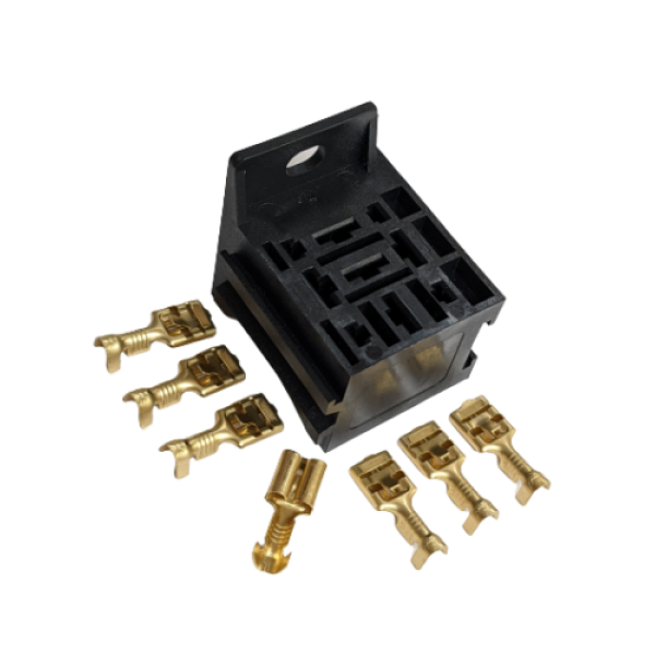 9 Slot Relay Holder + 7x 6.3mm Terminal Pack - LMA838/T