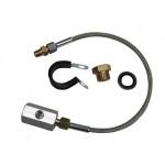 Oil Press & Temp T-Piece Kit 1/8BSPT to 1/8NPT 500mm - SUBKIT1/500