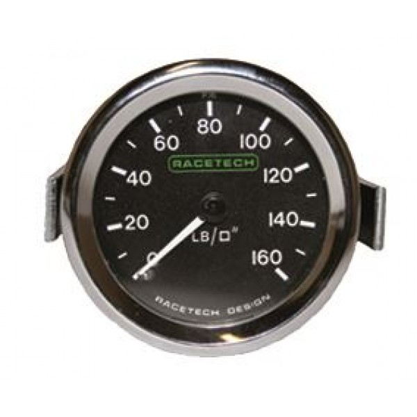 Racetech Gauges Chrome Bezel