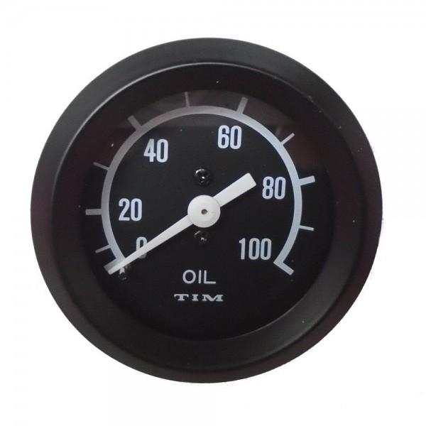 TIM Mechanical Oil Pressure Gauge 52MM