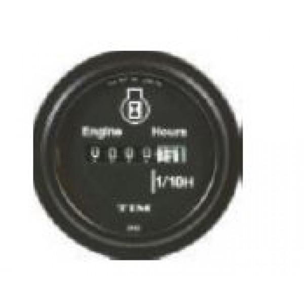 TIM Quartz Hourmeter 8-32 Volt 52mm