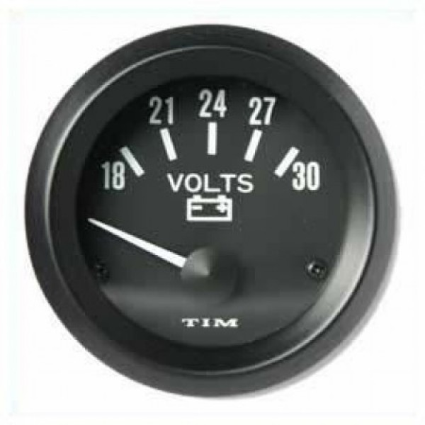TIM 24v Voltmeter 52mm