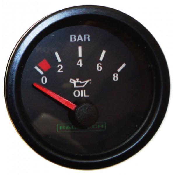 Racetech Electrical Oil Pressure Gauge
