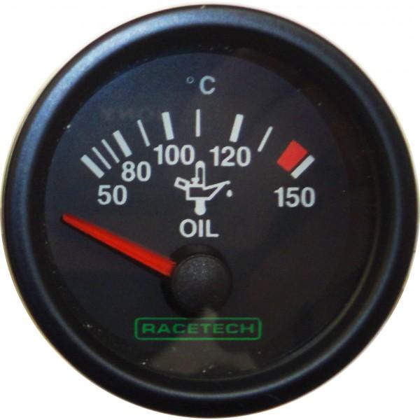 Racetech Electrical Oil Temperature Gauge