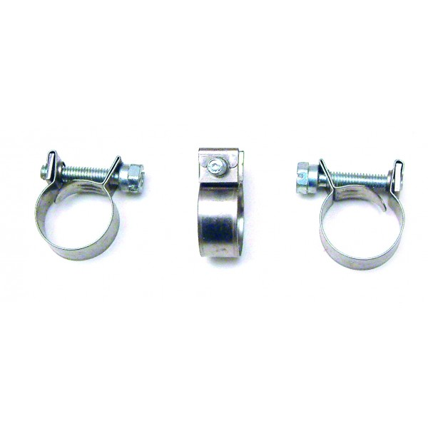 Mini Hose Clips Stainless Steel 14-16mm (Select Quantity)