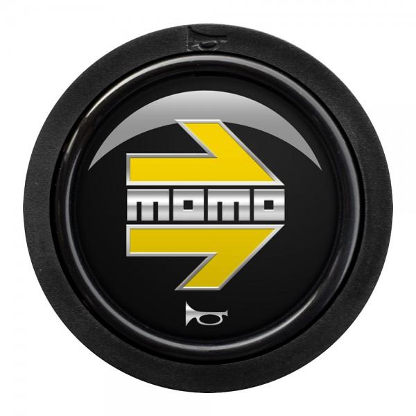 MOMO H/B STANDARD 1 CONTACT - MOMO ARROW GLOSS BLACK/YELLOW