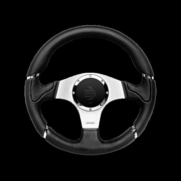 MOMO S/W Millenium - Black Leather Ø350mm