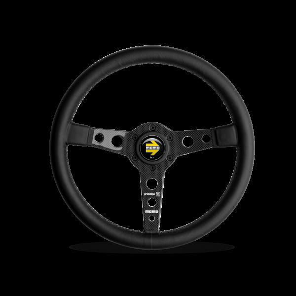 MOMO S/W Prototipo Carbon 6C - Carbon/Black Ø350mm