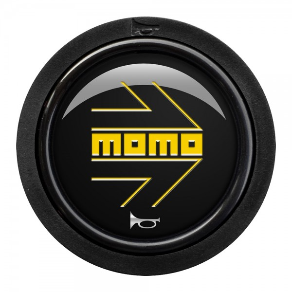 MOMO H/B 1 CONTACT - MOMO ARROW GLOSS BLACK/YELLOW