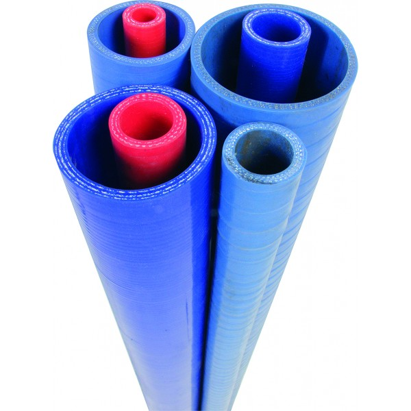 75mm ID 3 Ply RED Silicone Hose