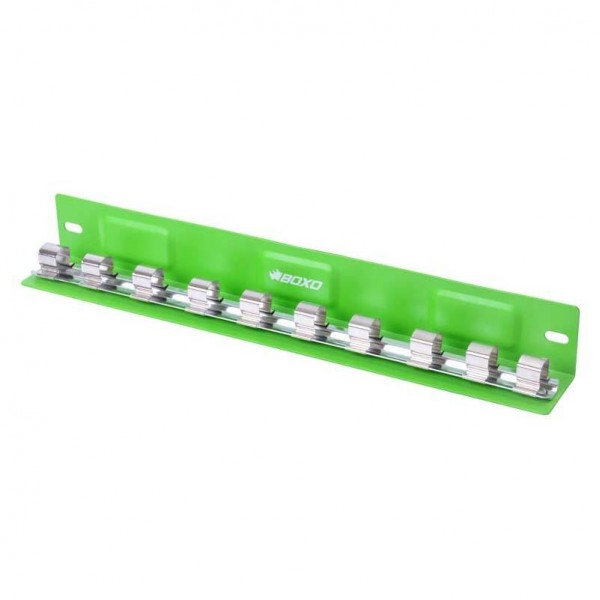 """10 Piece 1/2"""" Magnetic """"L"""" Type Socket Tray"""