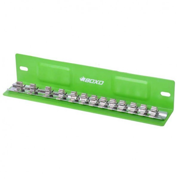 """13 Piece 1/4"""" Magnetic """"L"""" Type Socket Tray"""