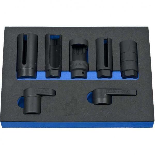 7 Piece Oxygen Sensor Socket Set
