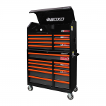 "41"" 19 Drawer Toolbox Stack With Drawer Trim Pack Black Body (Select Trim Colour)"