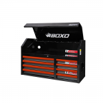 """41"""" 8 Drawer Top Box With Trim Pack Black Body (Select Trim Colour)"""