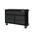 "53"" 12 Drawer Roll Cabinet With Drawer Trim Pack Black Body (Select Trim Colour)"