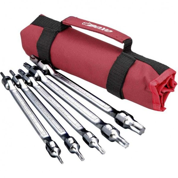 5 Piece Double Ended Torx Wrench Set