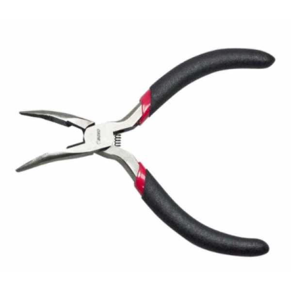 125mm Bent Long Nose Mini Pliers