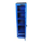 3 Shelf, 2 Drawer Full Length Side Cabinet