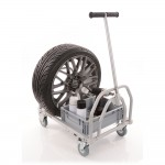 Mini Folding Pit Trolley - Powder Coated